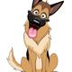 German Shepherd Dog - GraphicRiver Item for Sale