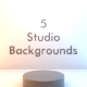 Free Download 5 Studio Backgrounds Nulled