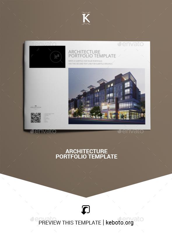 InDesign Architecture Portfolio Graphics Designs Templates