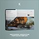 Professional Architecture Portfolio A4 Template - GraphicRiver Item for Sale