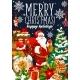 Christmas Holiday Santa and Gifts Bag - GraphicRiver Item for Sale