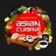 Japanese Cuisine Sushi Restaurant Menu - GraphicRiver Item for Sale