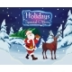 Santa with a Christmas Tree and a Deer - GraphicRiver Item for Sale