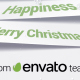 Free Download Corporate Christmas Logo and Message Animation Nulled