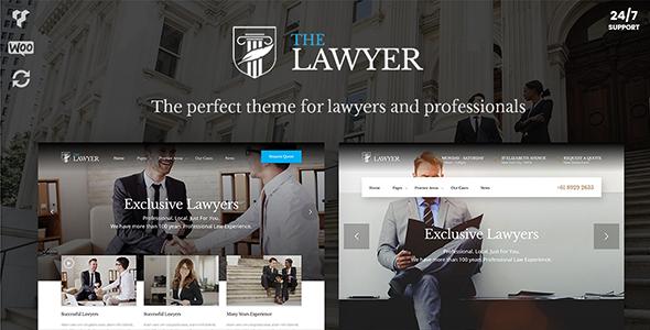 TheLawyer – Attorney & Lawyer WordPress Theme - Business Corporate