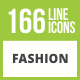 Free Download 166 Fashion Glyph Inverted Icons Nulled