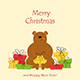 Bear with Christmas Gifts - GraphicRiver Item for Sale