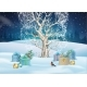 Christmas Night Background - GraphicRiver Item for Sale