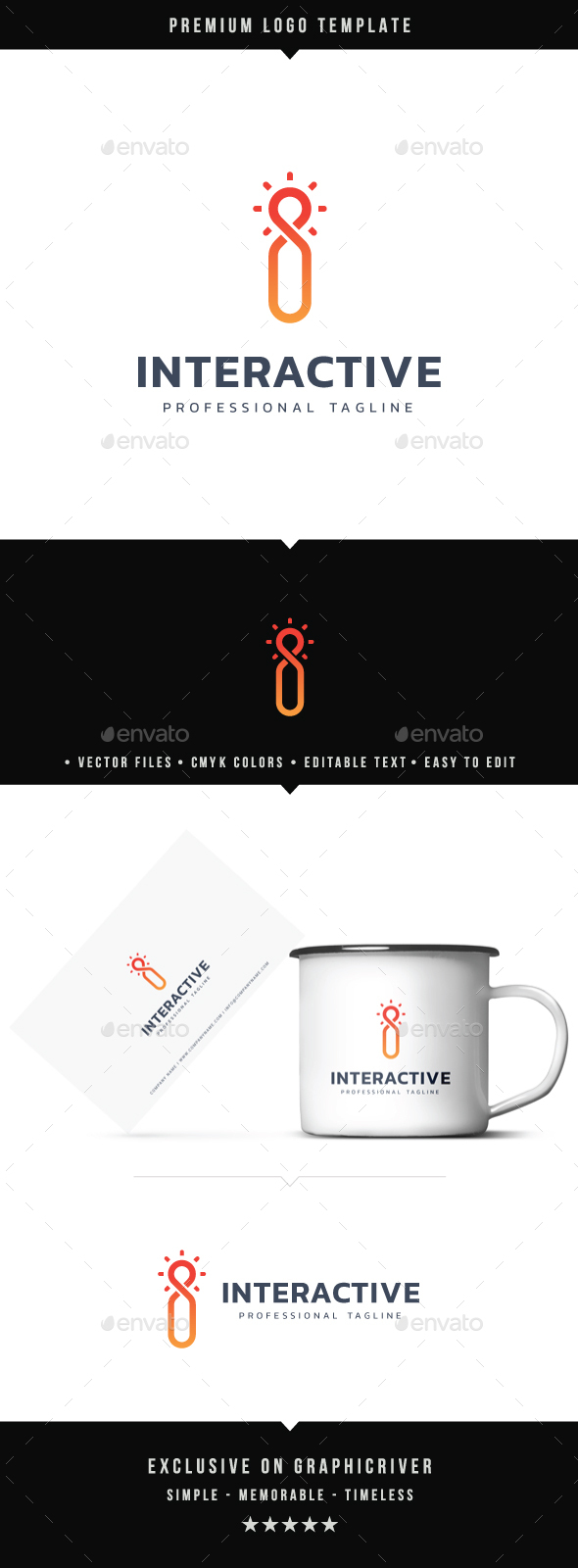 Interactive Logo - Symbols Logo Templates