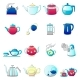 Free Download Kettle Teapot Icons Set Nulled