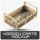 Wooden Fruit Crate Mock-Up - GraphicRiver Item for Sale