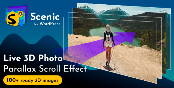 Scenic 3D Photo Parallax WordPress Plugin v1.2            Nulled