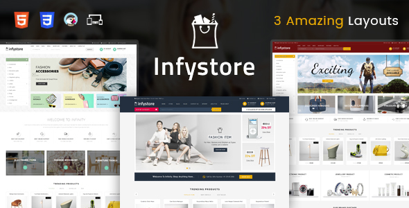 Infystore - Responsive Prestashop 1.7 Theme