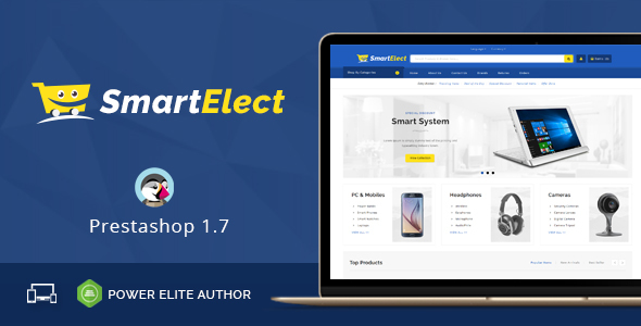 SmartElect - Responsive Prestashop 1.7 Theme - Shopping PrestaShop