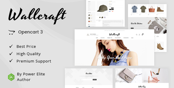 Wallcraft - Multipurpose OpenCart 3 Theme