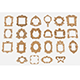Free Download Frames for mirrors and paintings 22 pieces Set-2 Nulled