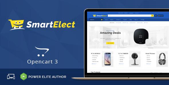 SmartElect - Multipurpose OpenCart 3 Theme - Shopping OpenCart