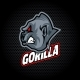 Gorilla Head From Side - GraphicRiver Item for Sale