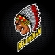 Indian Head From Side - GraphicRiver Item for Sale