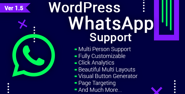 WordPress WhatsApp Support - CodeCanyon Item for Sale