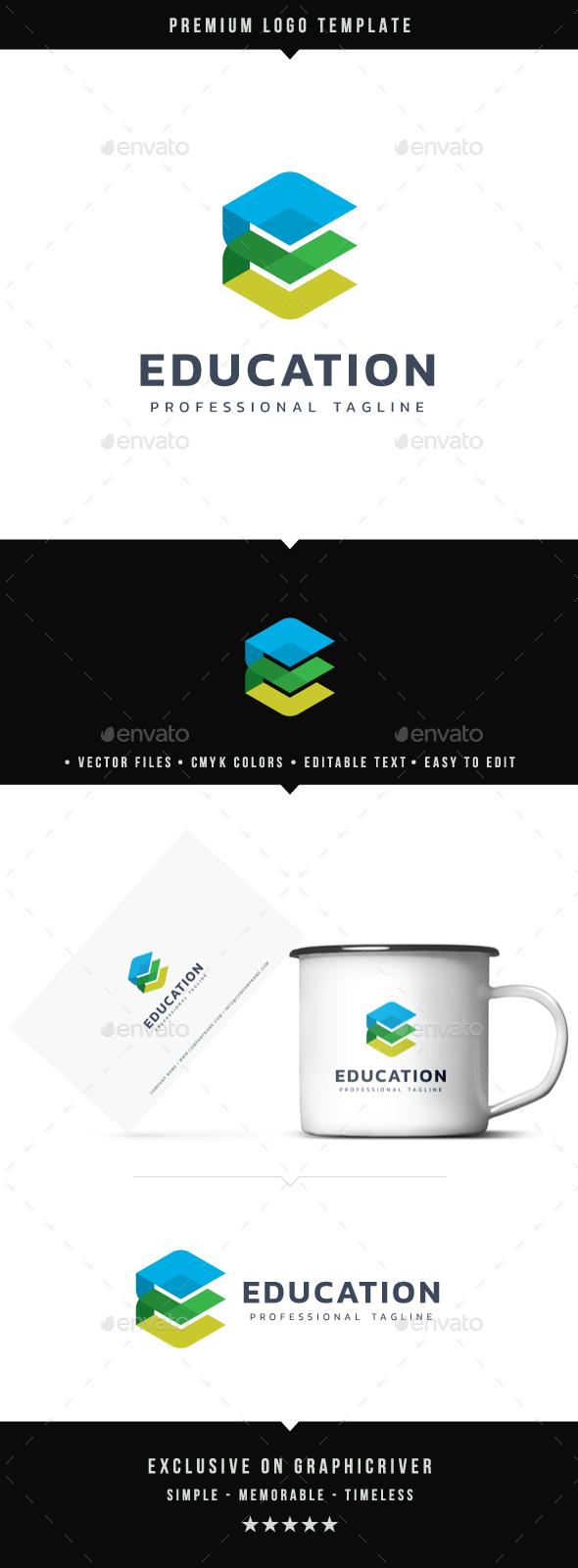 Education Logo - Symbols Logo Templates