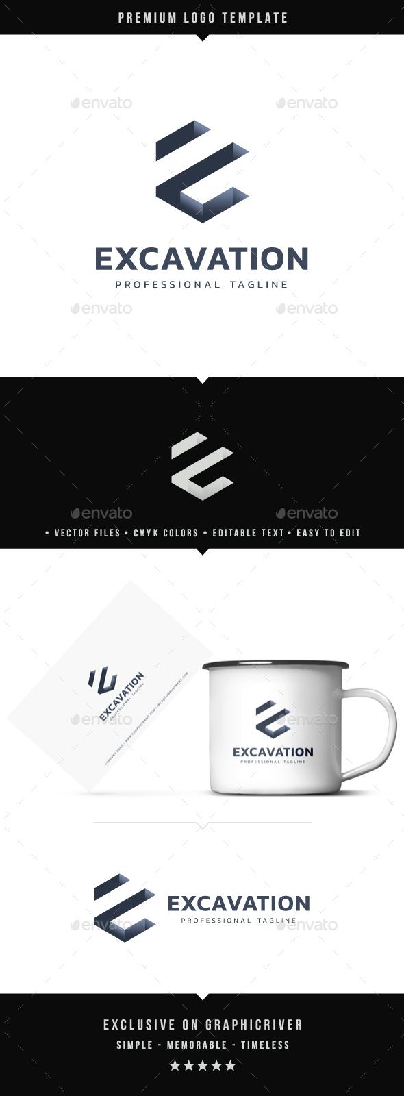 Excavation Logo - Abstract Logo Templates