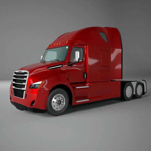 Freightliner Cascadia 2018- 2019 - 3DOcean Item for Sale