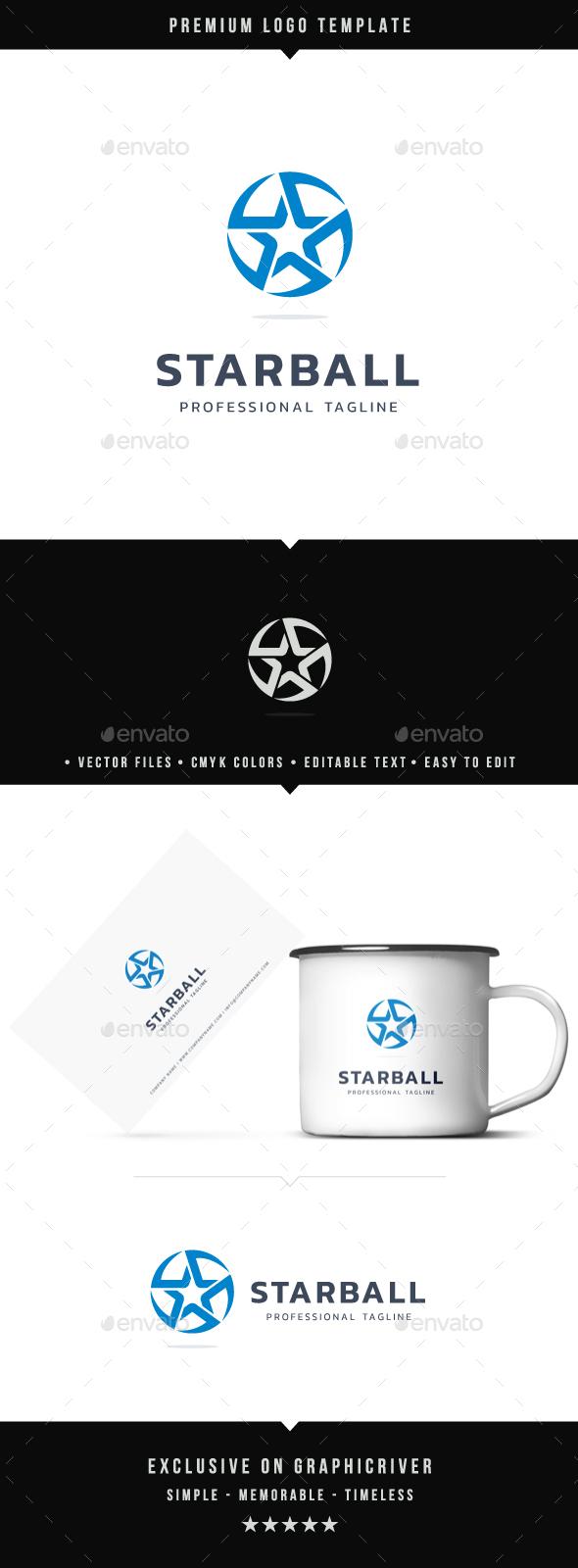 Star Ball Logo - Abstract Logo Templates