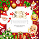 Merry Christmas Background with Copy Space - GraphicRiver Item for Sale