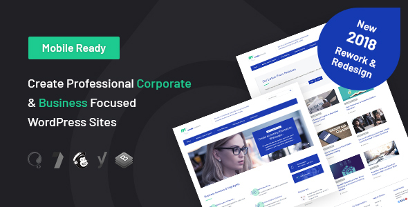 Media Consult - Business WordPress Theme