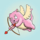 Valentines Day Cupid Cat - GraphicRiver Item for Sale