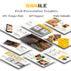 Danile Food Multipurpose Google Slide Template - GraphicRiver Item for Sale