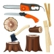 Wood Industry - GraphicRiver Item for Sale