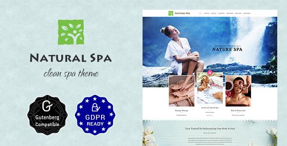Nature Spa | Beauty Spa, Massage Spa Theme - Retail WordPress