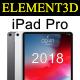 Element3D – iPad Pro 2018