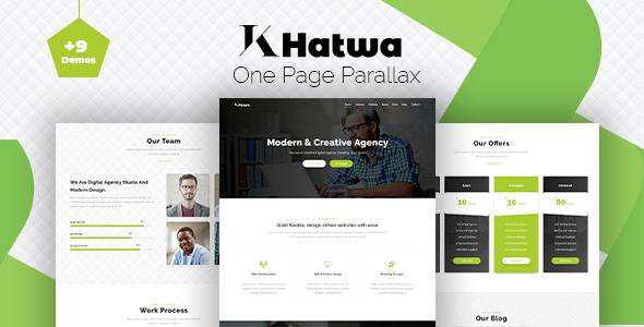 Khatwa - One Page Parallax