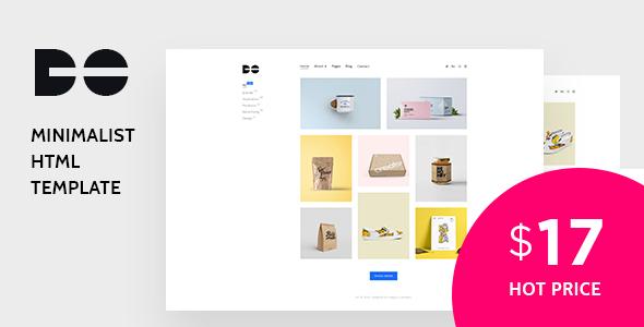 Do - Clean and Minimal Portfolio HTML Template - Portfolio Creative