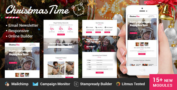 ChristmasTime Multipurpose Email Newsletter by emailGuy28