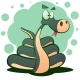 Cute Snake Cartoon Funny Illustration. - GraphicRiver Item for Sale