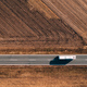 Aerial view of bus on the road - PhotoDune Item for Sale
