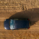 Off-road driving car on dirt road, aerial view - PhotoDune Item for Sale