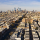 Long Panoramic View Dense Urban Neighborhoods Skyline Philadelphia - PhotoDune Item for Sale