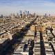 Long Panoramic View Dense Urban Neighborhoods Skyline Philadelphia - PhotoDune Item for Sale