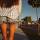 Free Download Photo beautiful sporty lady's legs in denim jeans shorts Nulled