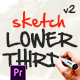 Lower Thirds Sketch for Premiere Pro - VideoHive Item for Sale
