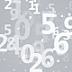 Numbers White Backgrounds - GraphicRiver Item for Sale