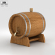 Barrel Beer - 3DOcean Item for Sale