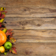 Free Download Fall background with green, red and yellow apples Nulled