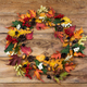 Fall wreath with viburnum and black berries - PhotoDune Item for Sale