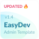 EasyDev — Developer Friendly React Redux BS4 Admin Template + Seed Project - ThemeForest Item for Sale
